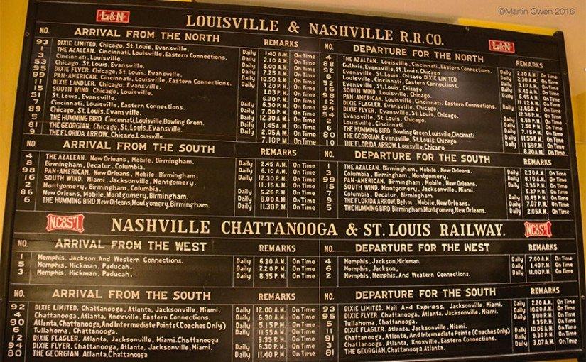 Nashville – let's sleep in the station