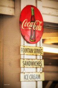 Heritage Coca Cola signage